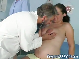 doctor put his prick up a preggy