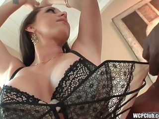 cougar can big dark cock in her ass