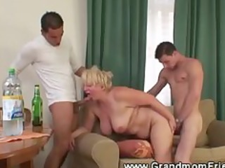 sexy and horny granny trio
