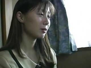 oriental mother and daughter receives it is hard