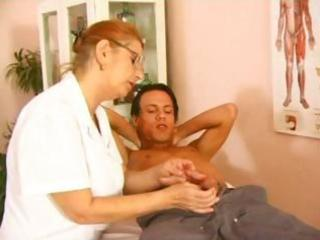 aged doctor fuck with juvenile patient