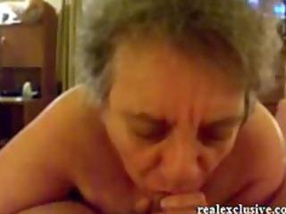 29 years granny sandra engulfing rod of her love