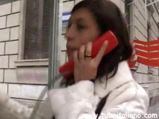 youthful italian dark brown wife calls to meet an