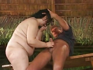 bbw german mature coarse fucking