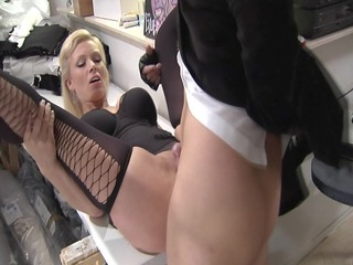 breasty milf german acquires ass jacked -