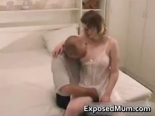 mum wearing pantyhose penetrated on the