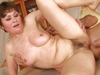 grandma enjoys hard sex with paramour
