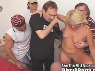 jackie 9 hole creampie bukkake group-sex with