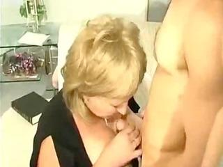 old russian mum receives her self an oriental boy