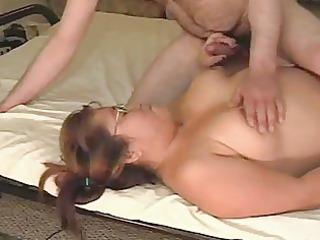 cute oriental rides penis