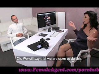 femaleagent. chap has issues during casting