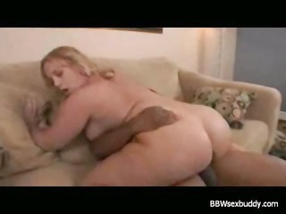 obese blond analized with bbc