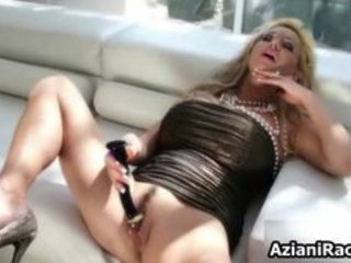 blonde cougar mama with her huge part4