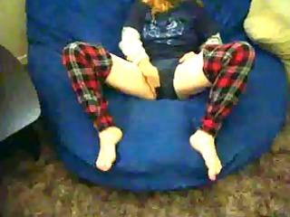 sex fingering fur pie underneath pants