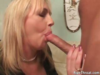 naughty large boobed golden-haired milf bitch