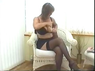 hot busty mature solo act