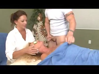 particular massage for golden-haired older