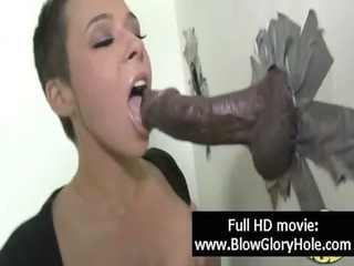 gloryhole - hawt breasty women love sucking