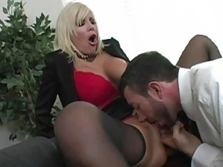 fantastic blond d like to fuck with large mambos