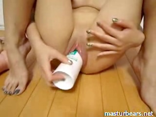 extraordinary masturbation erika with toys and