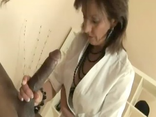 mature ladies interracial engulf