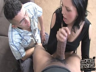 megan foxx owned by bbc in front of cuckold