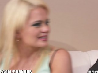 fit blonde slut alexis ford is interviewed and