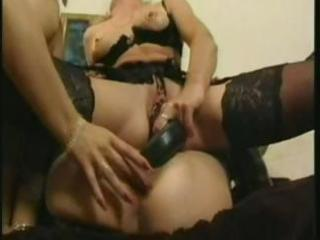 older blondes acquire together for threesome