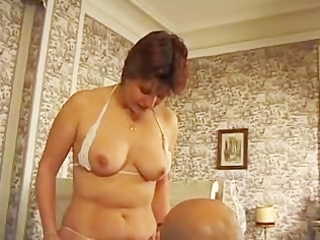 hairy big beautiful woman french aged
