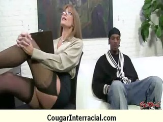 cougar drilled unfathomable by black monster