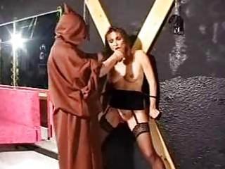bondage aged villein in castigation
