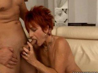 hawt euro redhead granny