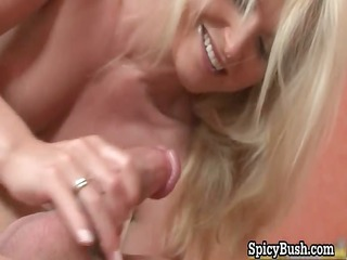 hawt blond hoe acquires her constricted juicy wet