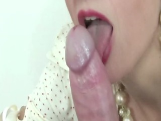 big titted older dominatrix plays with ramrod