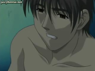 redhead anime mother i jerking a cock