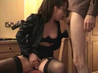 lascivious wife sucks and acquires a facial