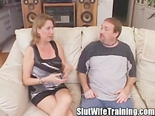 bitch wife anal intervention creampie