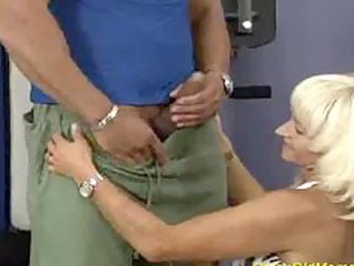 crazy old mamma receives drilled hard in her