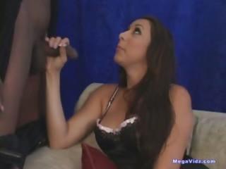 cuckold wife fucks black knob