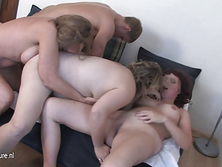 horny old aged cookies fucking a chap at the