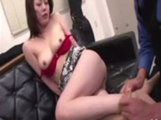 oriental mature gets carnal rimjob