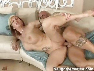 nice-looking momma brittany blaze acquires a