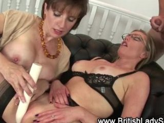 lady sonia and older ally fuck juvenile lad and