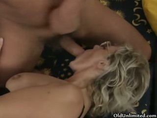 wicked aged woman gets her shaggy muff part1