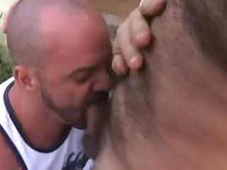 hairy muscle daddies trailer fuck