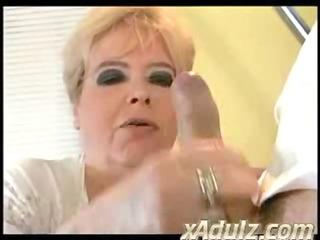 plump big beautiful woman granny copulates her