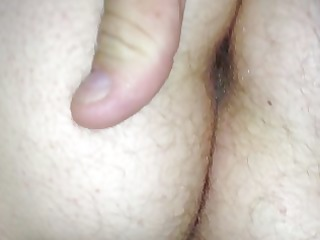 wifes hairy gazoo &; pussy.