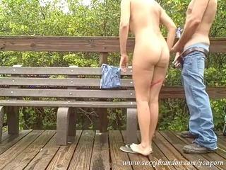 caught fucking in public