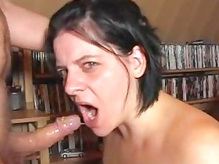 extreme deepthroat2 gag by german wife!!!!!