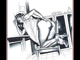 burglary turns into sex slavery for sexy d like